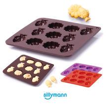 Baking mould Yellow purple sillymann