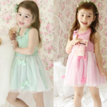 Dress Pink purple (spot) green (spot) Other / other female 5 7 9 11 13 Other 100% Pure cotton (100% cotton content)