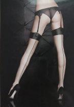Socks / base socks / silk socks / leg socks female Other / other Average size White black lace red vertical line red 1 pair