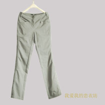 Casual pants S L gray