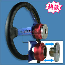 Steering wheel Louis-power Note - the object with logo, do not mind the default acceptance, thank you all black all Silver Red Gold Purple Blue Black Fifty-five