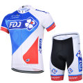 Cycling wear male 15 clover S M L XL XXL XXXL Suit jacket shorts Team version Short sleeve cycling suit Spring and summer