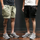 Casual pants Youth epidemic ArmyGreen Fat brother ML XL 2XL 3XL 4XL 5XL thin Micro-bomb K67 Other leisure Loose Shorts (wearing up to the knee) two thousand and eighteen young and energetic summer youth Middle waist Straight Non-iron treatment Dimensional cut Beach Shorts other