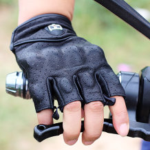 Knight gloves W01 เปลือกแข็งดำเปลือกหอยสีดำ M L XL 2XL Yindian / Indian tribe