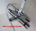 Shower faucet (suit) Fixed support Shukmar Double shower faucet copper Wall entry Constant temperature control Intra city logistics delivery ts-07 Others