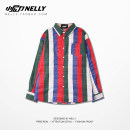 shirt Youth fashion HEYBIG M L XL Yellow green, red blue routine Long sleeves square neck easy Other leisure autumn CJH090397AQHN teenagers tide 2018 other other other