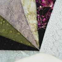 Fabric 1 light blue 1.4 * 3.4m 2 Gray lotus root powder 1.5 * 1.5m one corner is damaged 3 green 1.3 * 1.2m 0.4 * 0.4m damaged 4 Black 1.3 * 0.9m 0.4 * 0.3m missing corner 5 golden Chegu white net 0.9 * 0.5m 6 light blue 1.5 * 0.9m 7 0.9 * 0.8m 7 0.6 * 3M 7 0.5 * 2.5m