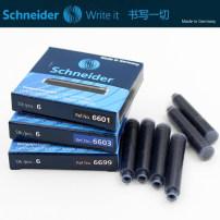 Pen ink / refill / ink bag Pen Schneider / Schneider Pure blue (6 pieces) black (6 pieces) pure blue (30 pieces) black (30 pieces) blue black (6 pieces) six thousand and six hundred Schneider / Schneider 6600
