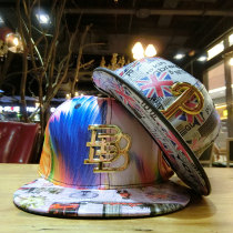 Hat other Decor Adjustable Hip hop hat Spring summer autumn winter currency street Young lovers dome Wide eaves 30-34, 25-29, 20-24, 15-19 Graffiti