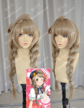 Cosplay accessories Wigs / Hair Extensions goods in stock Lucaille / deer cocoa Pre sale delivery on July 5: braid design + Half bow Cartoon characters Average size