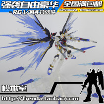 Gundam model zone Over 8 years old RG version Assault freedom spare parts