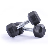 dumbbell Gym fixed hexagonal dumbbell Altman Coated dumbbell Comprehensive exercise of fitness GY006 male