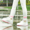 shoe cover Orange transparent S M L Qingqing Yulu Rainproof shoe covers A01316