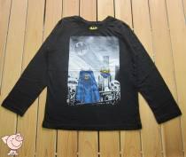 T-shirt Black long sleeve T-shirt Batman / Batman Size 14, 8 male Long sleeves Crew neck leisure time nothing Cartoon animation Batman