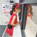 Dress gules Other / other female 7 9 11 13 15 Other 100% summer Korean version Skirt / vest Dot