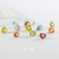 Ear Studs other RMB 1.00-9.99 Other / other Orange yellow purple green brand new Ruili female goods in stock Fresh out of the oven Plants and flowers