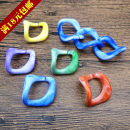 Other DIY accessories Other accessories Acrylic 0.01-0.99 yuan Yellow red purple green blue