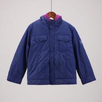 Cotton padded jacket neutral Detachable cap other Other / other navy blue 130cm,140cm,150cm,160cm 14, 13, 12, 11, 10, 9, 8, 7, 6, 5, 4