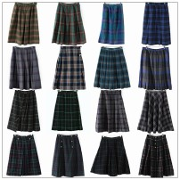 skirt Winter of 2019 Average size NO.1,NO.2,NO.3,NO.4,NO.5,NO.6,NO.7,NO.8,NO.9,NO.10,NO.11,NO.12,NO.13,NO.14,NO.15,NO.16 longuette commute A-line skirt lattice Type A 81% (inclusive) - 90% (inclusive) Wool wool Pockets, buttons, zippers, prints Britain