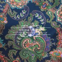 Fabric / fabric / handmade DIY fabric silk Picture color Loose shear piece clothing Europe and America