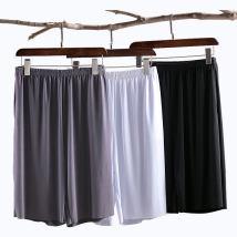 Casual pants Youth epidemic White Grey Royal Blue Other /other L (105-125 kg) five pants XL (125-145 kg) five pants 2XL (145-165 kg) five pants 3XL (165-185 kg) five pants 4XL (185-215 kg) five pants thin Ice silk pants Polyamide fiber (nylon) 90% Polyurethane elastic fiber (spandex) 10% Loose Shorts