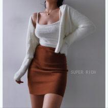 skirt Winter 2020 S, M Black, gray, orange