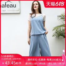 Fashion suit Jando G72180 96% and above Summer of 2019 Polyester 100% 25-35 years old Gray blue S M L