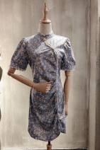 Dress Summer 2020 blue Average size mirror BM76