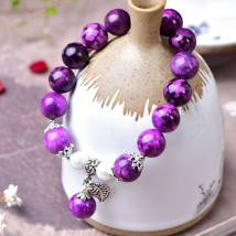 Bracelet Natural crystal / semi precious stone RMB 25-29.99 Other / other 12mm brand new goods in stock ethnic style male Online gathering features