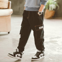 trousers Babybody male 120cm 130cm 140cm 150cm 160cm 170cm Black grey spring and autumn trousers Korean version There are models in the real shooting Casual pants Leather belt middle-waisted Don't open the crotch Other 100% C21002 Class B Spring 2021 Chinese Mainland Zhejiang Province Huzhou City