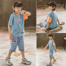 T-shirt Light blue white Babybody 120cm 130cm 140cm 150cm 160cm 170cm male summer Short sleeve Korean version There are models in the real shooting nothing other other Other 100% X21165T Class B Summer 2021 Chinese Mainland Zhejiang Province Huzhou City