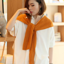 Scarf / silk scarf / Shawl Wool Dark green, black, beige, pink, buy 2 get 1 free Spring and autumn, summer, winter female Shawl multi-function Korean version other Student, youth, youth Solid color other 50cm 105cm Missy, yo yo mx180