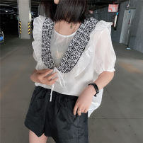 shirt white Average size Summer 2020 other 96% and above