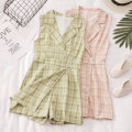 Casual pants Black, apricot, khaki, pink, green Average size Summer 2021 shorts Jumpsuit High waist commute routine 18-24 years old 81% (inclusive) - 90% (inclusive) 8873# Other / other other Korean version