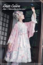 Dress Summer of 2019 Pink, white, gray, light purple S,L