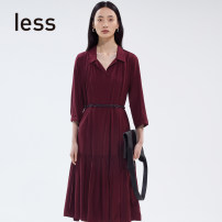 Dress Summer 2020 XS S M L XL longuette singleton  Nine point sleeve Socket routine 25-29 years old LESS 71% (inclusive) - 80% (inclusive) other other Same model in shopping mall (sold online and offline)