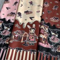 Fabric / fabric / handmade DIY fabric Others Pink [half rice price], yellow [half rice price], red coffee [half rice price], pink (BJD uses small half rice price), yellow (BJD uses small half rice price), red coffee (BJD uses small half rice price)