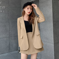 Fashion suit Autumn of 2019 XL,L,M,S Black, gray, khaki 25-35 years old Other / other 81% (inclusive) - 90% (inclusive)