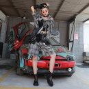 Fashion suit Other / other IN80025 90025 51% (inclusive) - 70% (inclusive) cotton Summer 2020 grey S (90-105 kg), m (105-115 kg), l (115-125 kg), XL (125-140 kg)
