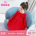 Dress Yangguanghong female Mingjia fairy tales 110cm 120cm 130cm 140cm 150cm 160cm Cotton 95.3% polyurethane elastic fiber (spandex) 4.7% spring and autumn Korean version Long sleeves Solid color other A-line skirt N0107QZ137 other Spring 2021