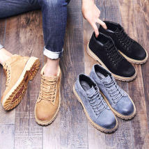 Boots Xinyida Example of size selection - leather shoes, casual shoes, 40 options, sports shoes, 40 options, 39 38 39 40 41 42 43 44 Frenulum Superfibria Short tube Two layer pigskin Two layer pigskin Microfiber skin Martin boots Round head The trend of youth TPR (tendon) Youth (18-40 years old)