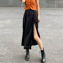 skirt Summer 2020 S m average Striped vest one piece skirt one piece Mid length dress commute High waist A-line skirt Solid color Type A 18-24 years old KhTBeYJ More than 95% Xianweiya polyester fiber Korean version 100.00% polyester Pure e-commerce (online only)