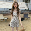 Fashion suit Summer 2021 S,M,L Top piece, skirt piece 18-25 years old