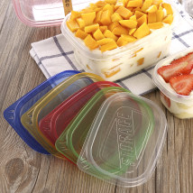 Disposable lunch box Chinese Mainland rectangle box 20 (including) - 50 (excluding) Plastic
