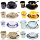 bowl Melamine s160 Overglaze Plants and flowers 4.5 in Chinese style 1 Chinese Mainland Self made pictures Boya Less than 9.9 yuan public