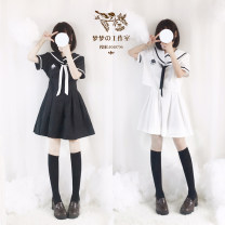 Fashion suit Summer of 2018 S,M,L Up white and down black, up black and down white, up white and down white, up black and down black