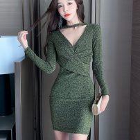 Dress Autumn 2020 Gold, silver S,M,L,XL