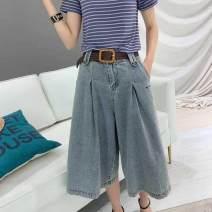 Jeans Spring 2012 Retro Blue single pants, Retro Blue single pants + belt, dark blue S,XL,2XL,L,M,3XL