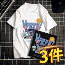 T-shirt Youth fashion routine M L XL 3XL XXL 4XL Walk slowly in the cloud Short sleeve Crew neck standard Other leisure 20210413-TX3-05 Cotton 100% Summer 2021 Pure e-commerce (online only)