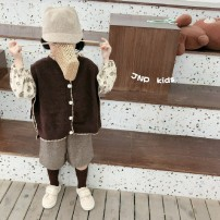 suit Other / other female spring and autumn solar system Long sleeve + pants 3 pieces routine There are models in the real shooting Socket nothing Solid color cotton friend Expression of love Class B Cotton 90% other 10% Chinese Mainland Zhejiang Province Huzhou City